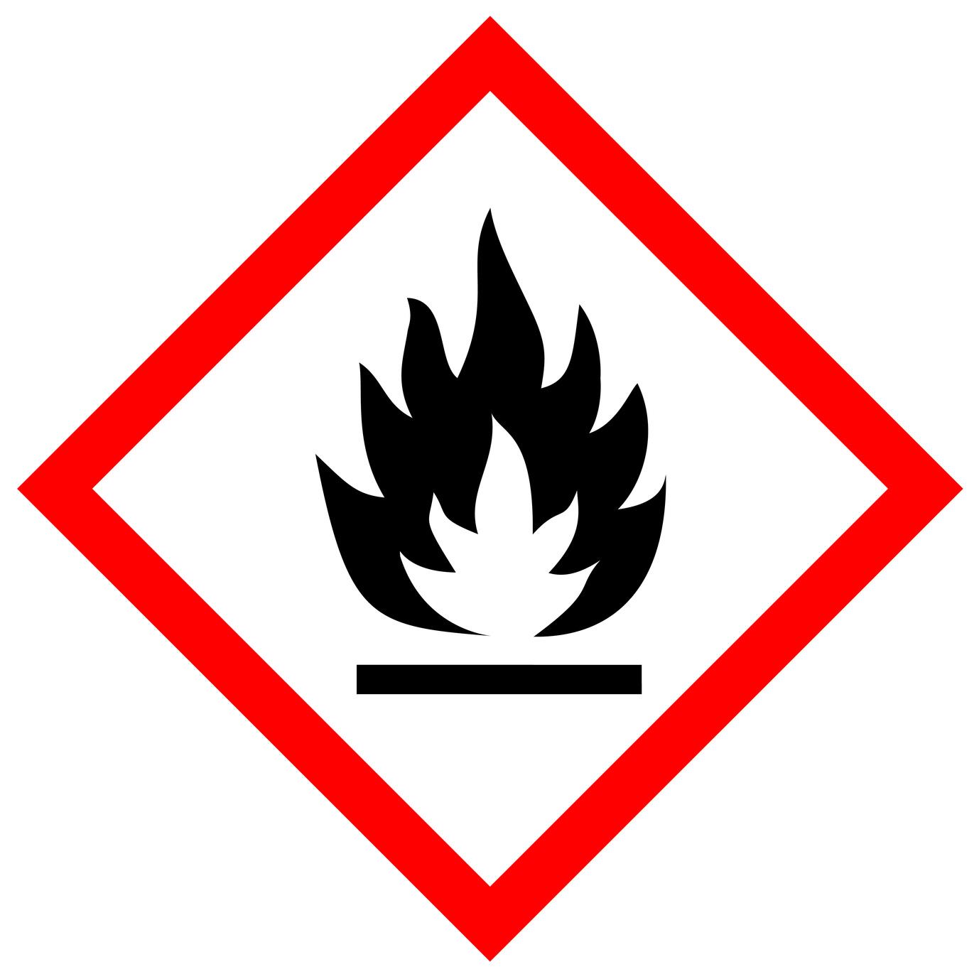 Gefahrenzeichen brandgefahr