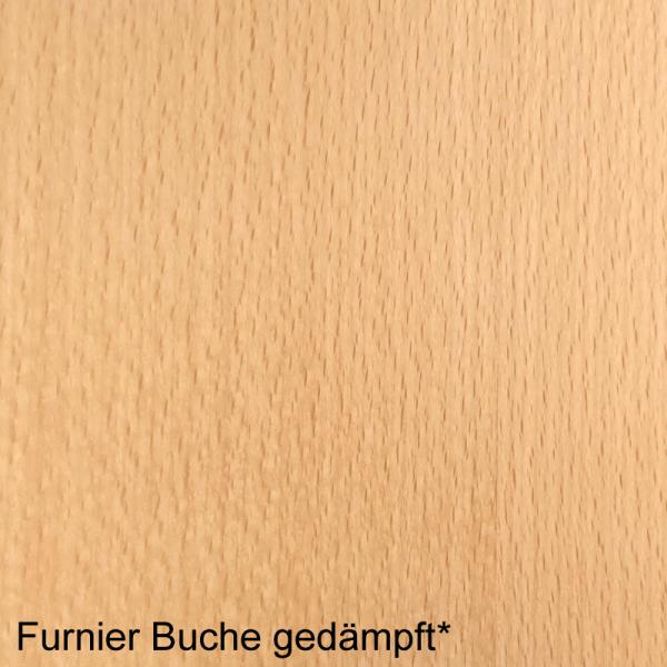 Buche gedämpft Mustertafel für Zimmertüren & Türzargen Furnieroberfläche