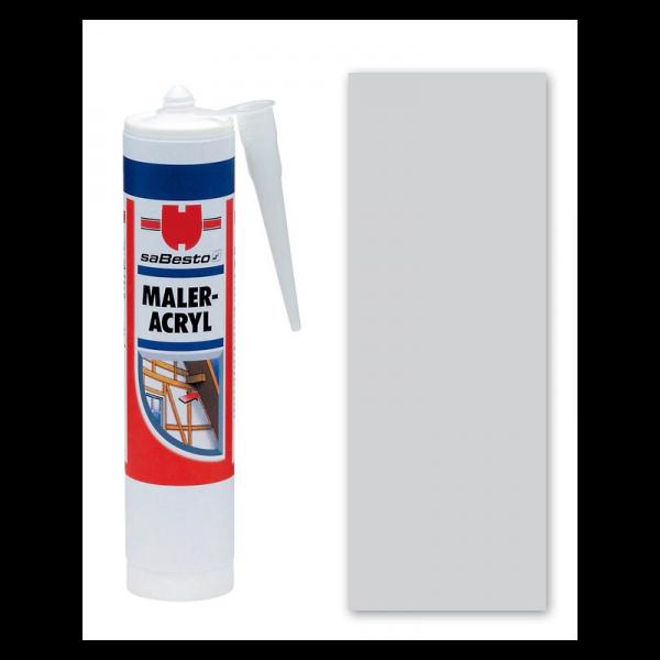 Grau Acryl - Dichtstoff / Maleracryl 310 ml