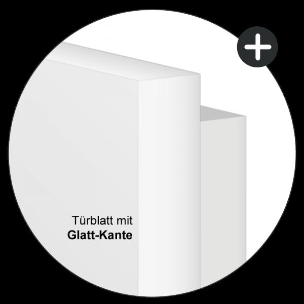 Nussbaum Türzarge / Zarge - Echtholzfurnier Oberfläche - Lebo