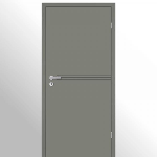 Mala 15 Zimmertür / Innentür RAL 7073 Lavagrau - Designtür