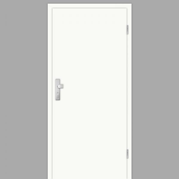 Weißlack Wohnungstüren / Schallschutztüren mit Zarge Dekor RAL 9010