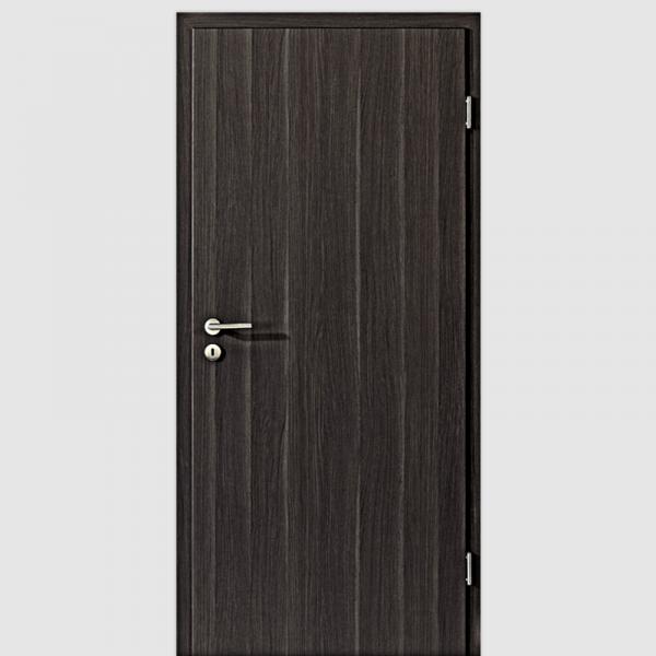 Eiche Anthrazit Innentür / Zimmertür mit Zarge CPL Maserung Aufrecht