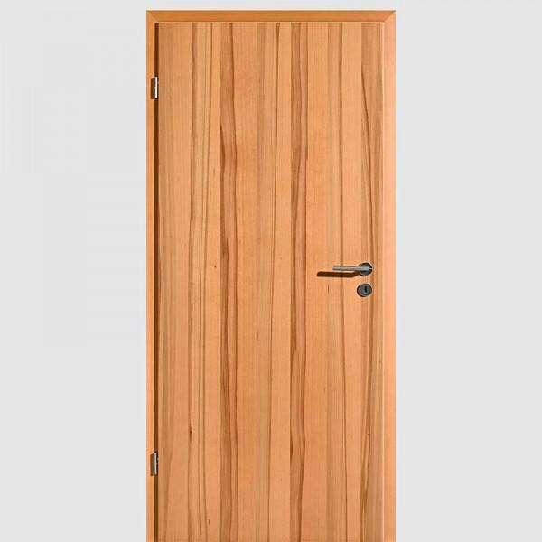 Kernbuche Echtholzfurnierte Innentür / Zimmertür Furnier Aufrecht