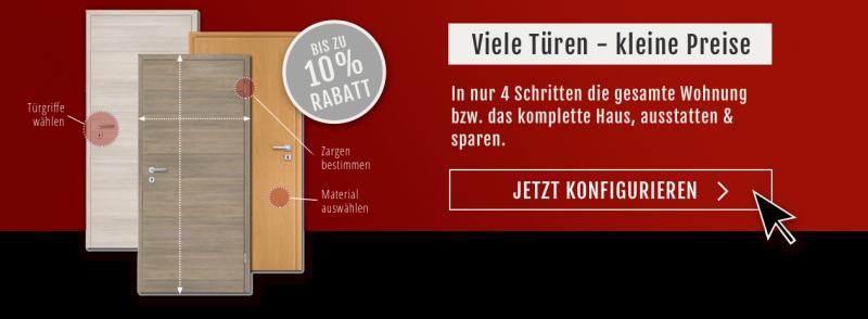 Zimmertüren & Innentüren mit Zargen online kaufen