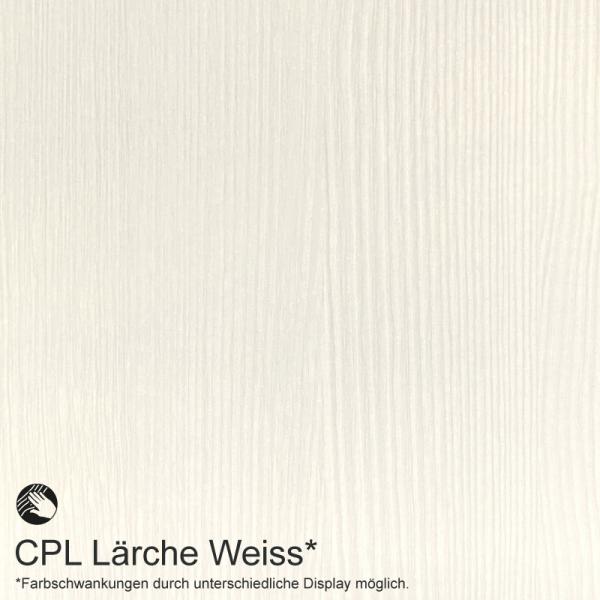 Lärche Weiß Mustertafel für Zimmertüren & Türzargen CPL Maserung