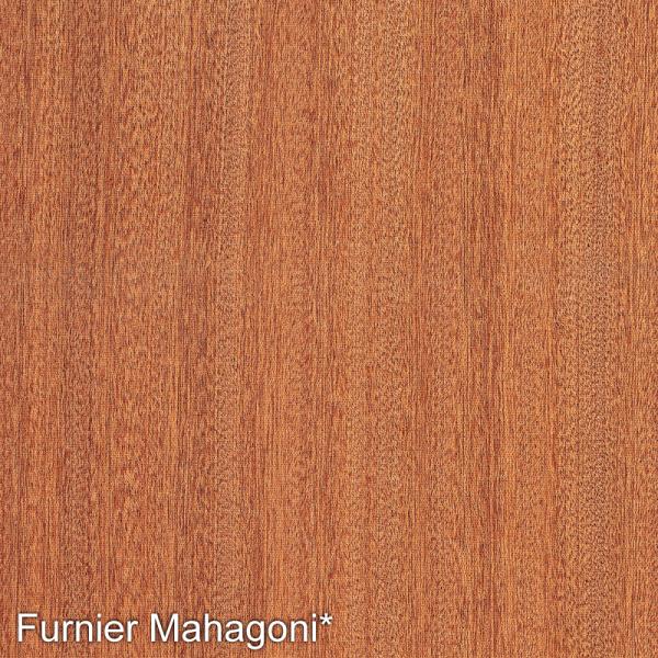 Mahagoni Mustertafel für Zimmertüren & Türzargen Furnieroberfläche