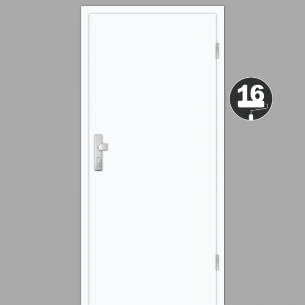Weißlack 16 Wohnungstüren / Schallschutztüren CPL RAL 9010