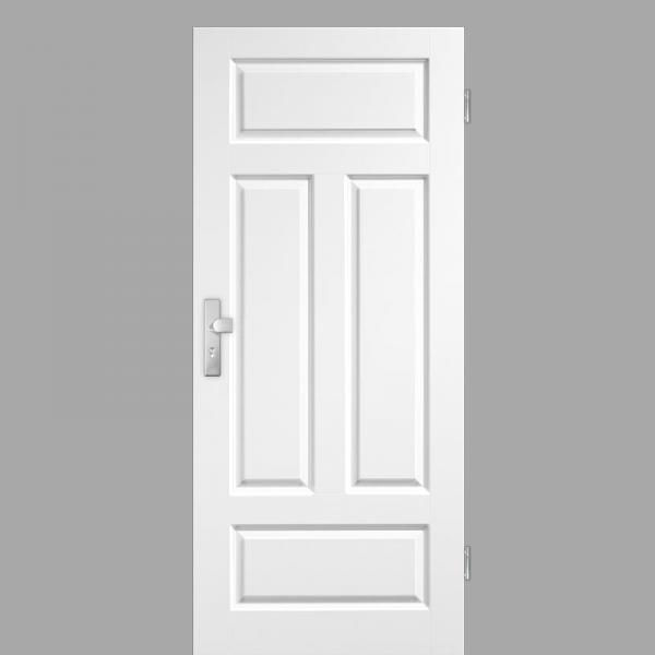 Elegance 04-Q Wohnungstüren / Schallschutztüren RAL 9010 Weißlack