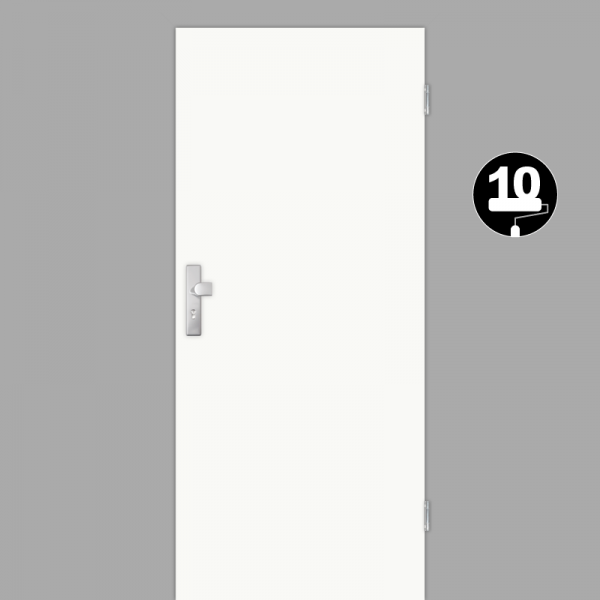 Weißlack 10 Wohnungstüren / Schallschutztüren CPL RAL 9016