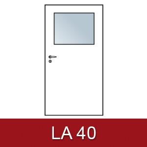Lichtausschnitt für Zimmertüren LA 40