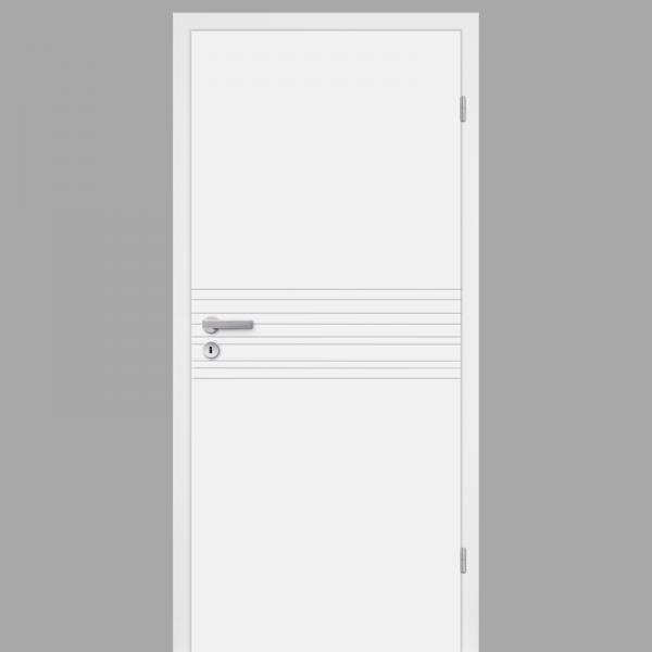 Mala 18 Zimmertür / Innentür RAL 9010 CPL Weißlack - Designtür