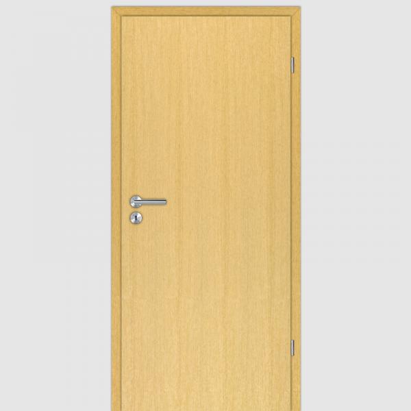 Limba Echtholzfurnierte Innentür / Zimmertür Furnier mit Zarge