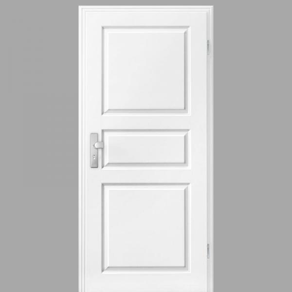 Elegance 03 Wohnungstüren / Schallschutztüren mit Zarge CPL RAL 9010