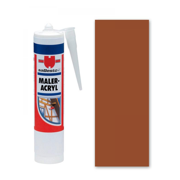 Braun Acryl - Dichtstoff / Maleracryl 310 ml