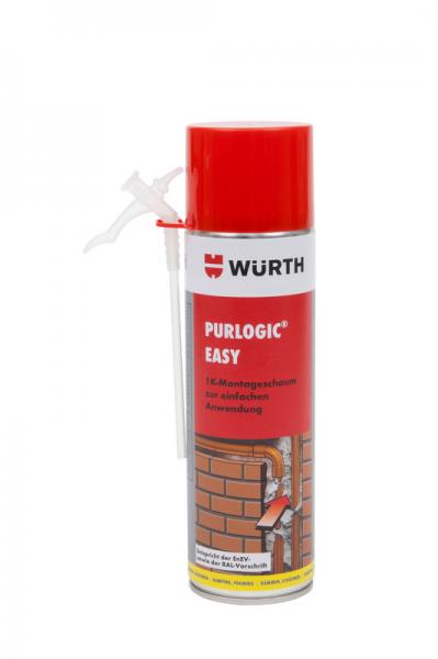 1K Pistolenschaum PURLOGIC Easy 500ml - Würth GmbH & Co. KG