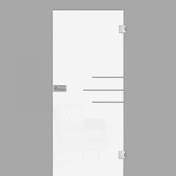 bahia Motiv klar - Ganzglastür / Glastür - Erkelenz
