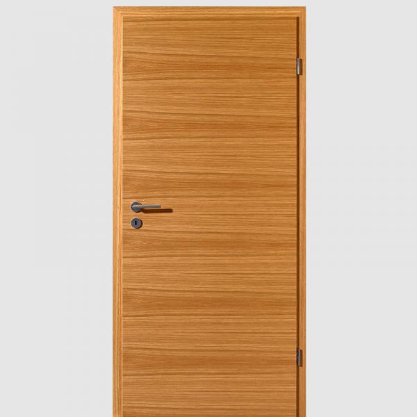 Weißeiche Echtholzfunierte Innentür / Zimmertür Furnier mit Zarge