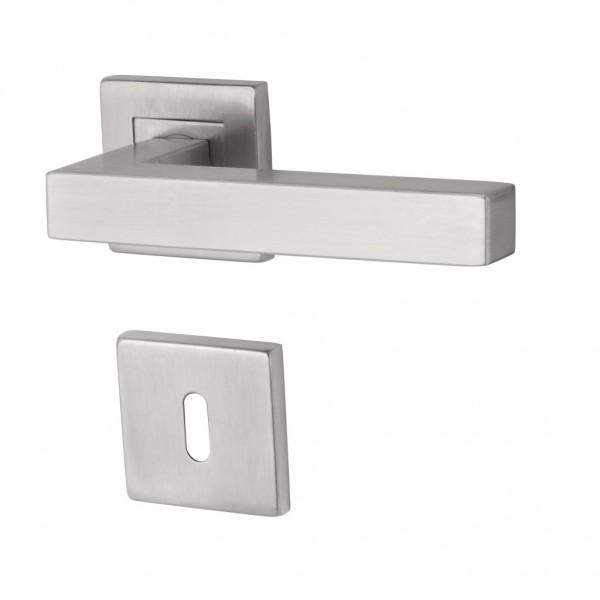 Monaco Square II - R - Türdrücker / Rosettengarnitur - Südmetall GmbH