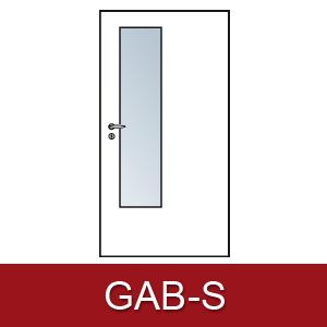 Lichtausschnitt für Zimmertüren Gab-s