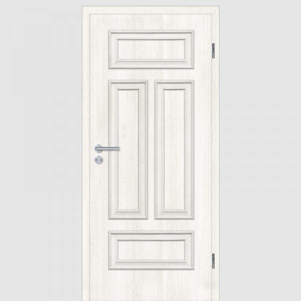 CPL Lärche Weiß Melance 04Q Landhaustüren mit Zarge Maserung Aufrecht