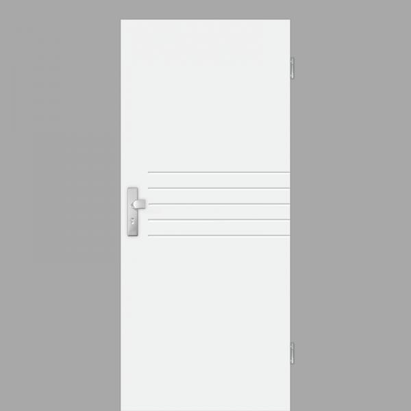Mala 06 Wohnungstüren / Schallschutztüren RAL 9010 Weißlack