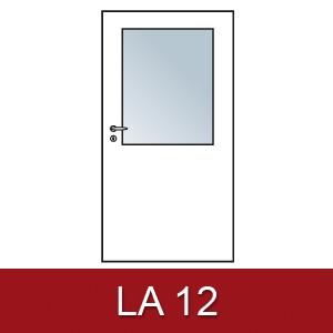 Lichtausschnitt für Zimmertüren LA 12