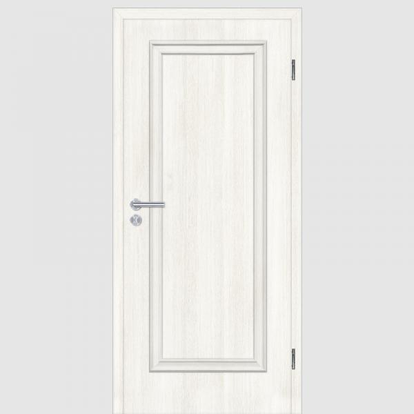CPL Lärche Weiß Melance 01.0 Landhaustürenx mit Zarge Maserung Aufrecht