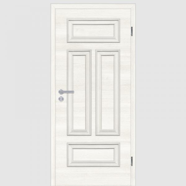 CPL Lärche Weiß Melance 04Q Landhaustüren mit Zarge Maserung Quer