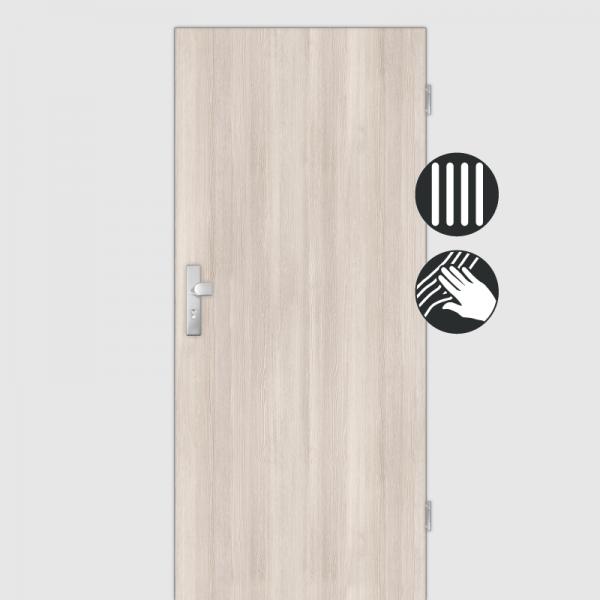 Lärche Crema Wohnungstüren / Schallschutztüren CPL Maserung Aufrecht