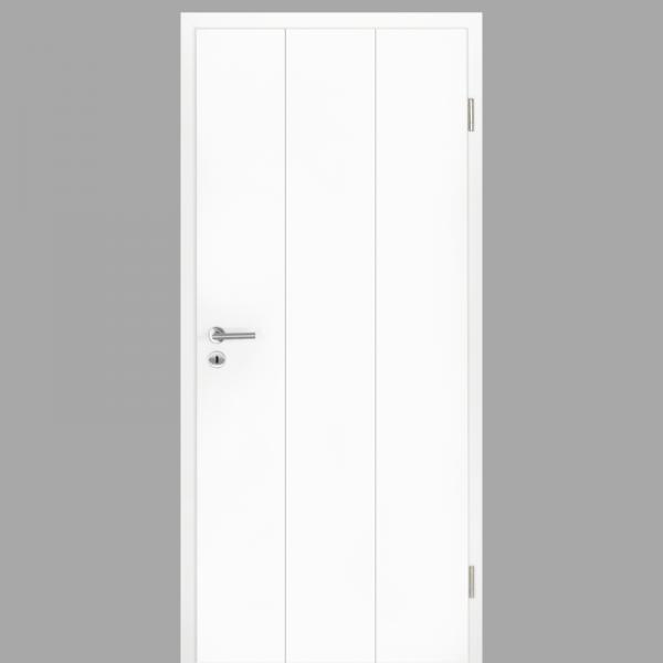 Gap 08 Zimmertür / Innentür RAL 9016 CPL Weißlack - Designtür