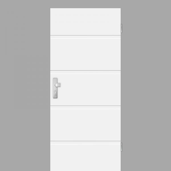 Pura 05 Wohnungstüren / Schallschutztüren RAL 9010 Weißlack