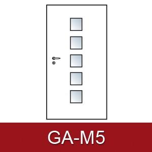 Lichtausschnitt für Zimmertüren Gab-m5