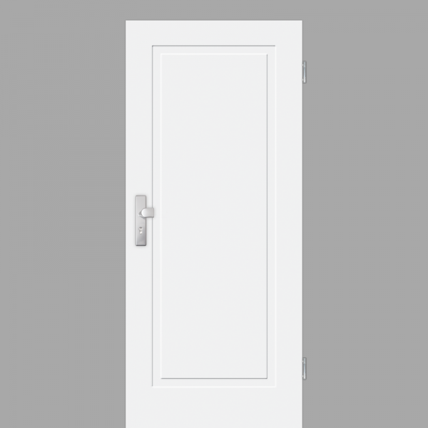 Cala 01 Wohnungstüren / Schallschutztüren RAL 9010 Weißlack