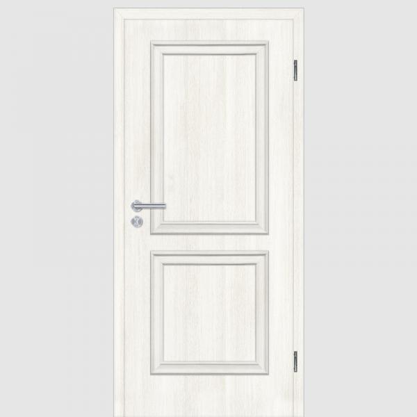 CPL Lärche Weiß Melance 02.0 Landhaustüren mit Zarge Maserung Aufrecht
