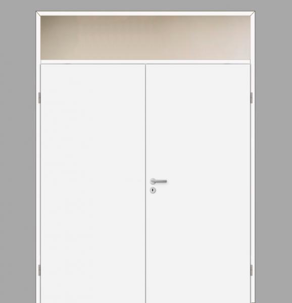 Windfang mit Oberlicht, für Doppelflügeltür / Typ 11   tuerenmarkt24