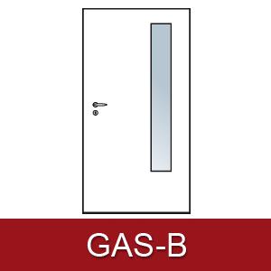 Lichtausschnitt für Zimmertüren GAS-B