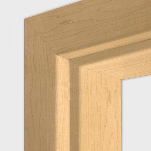 Can. Ahorn Türzarge / Zarge - Echtholzfurnier Oberfläche - Lebo