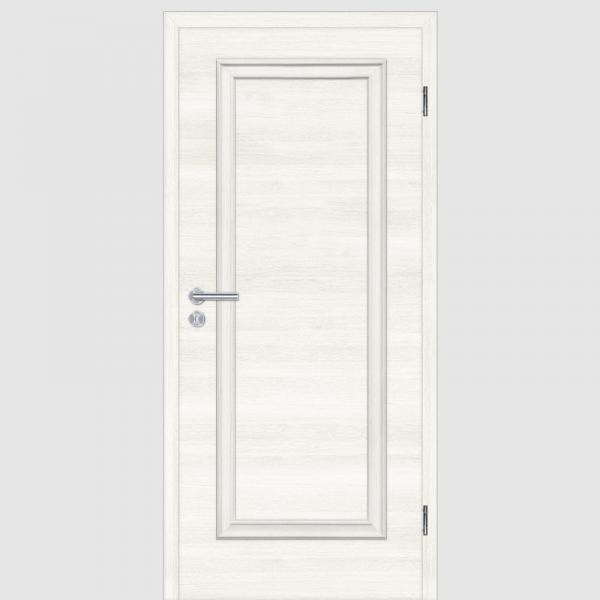 CPL Lärche Weiß Melance 01.0 Landhaustüren mit Zarge Maserung Quer