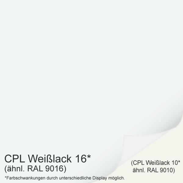 Selicia 4 Landhaustür / Stiltür CPL RAL 9016 Weißlack