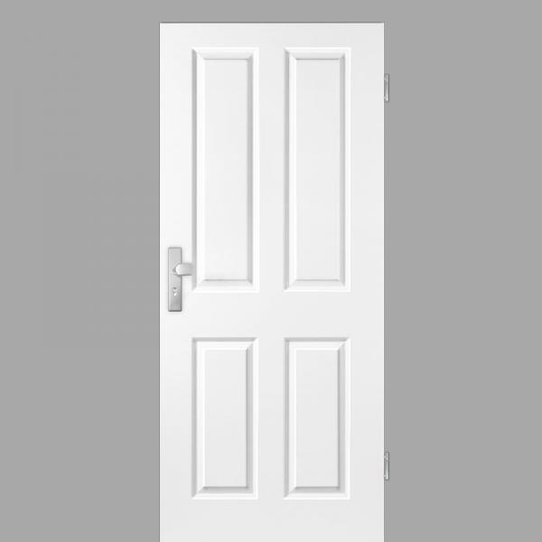 Elegance 04 Wohnungstüren / Schallschutztüren RAL 9010 Weißlack