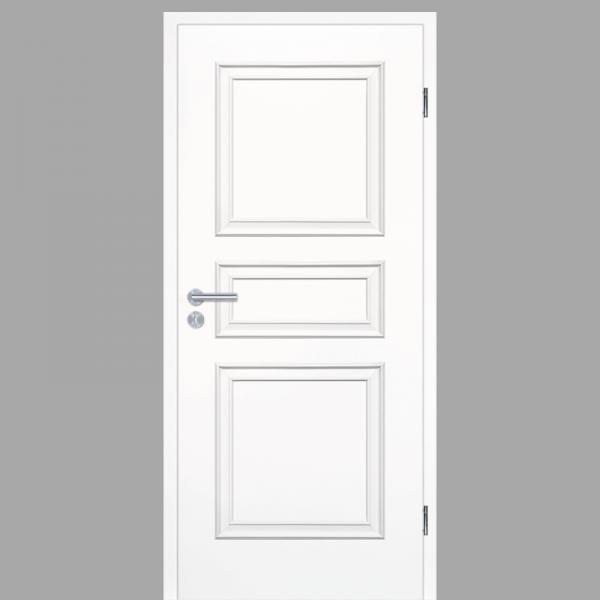 Melance 03 Landhaustüren & Stiltüren mit Zarge RAL 9010 CPL Weißlack