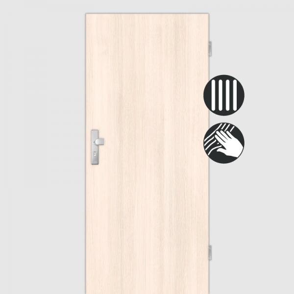 Pinie Wohnungstüren / Schallschutztüren CPL Maserung Aufrecht