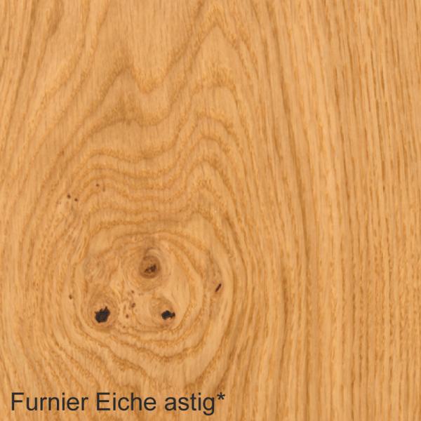 Eiche astig Mustertafel für Zimmertüren & Türzargen Furnieroberfläche