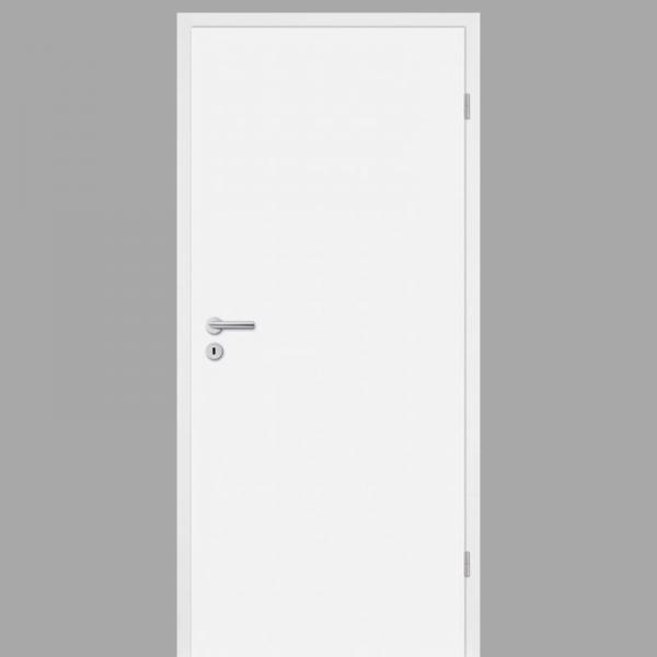Weißlack Zimmertür / Innentür Weiss Dekor