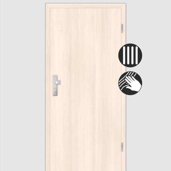 Pinie Wohnungstüren / Schallschutztüren mit Zarge CPL Maserung Aufrecht