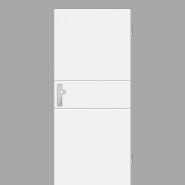 Mala 09 Wohnungstüren / Schallschutztüren RAL 9010 Weißlack