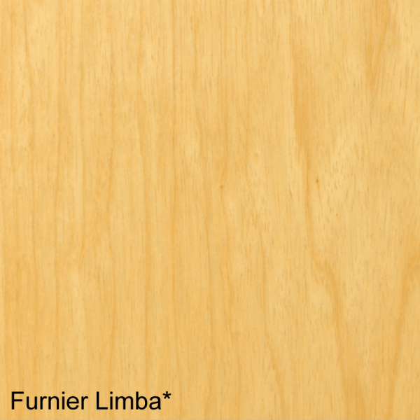 Limba Mustertafel für Zimmertüren & Türzargen Furnieroberfläche