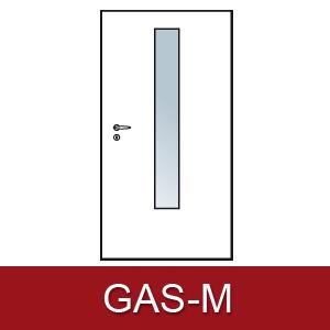 Lichtausschnitt für Zimmertüren GAS-M