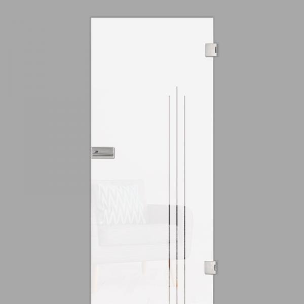 vertigo Motiv klar - Ganzglastür / Glastür - Erkelenz